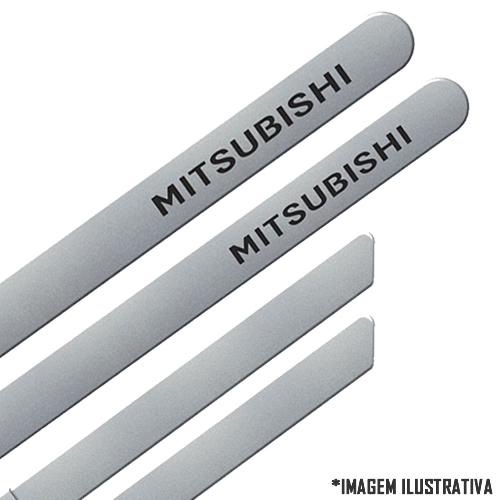 Jogo Friso Lateral Pintado Mitsubishi Pajero TR4 2010 2011 2012 2013