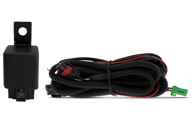 Kit Farol de Milha Neblina Mitsubishi L200 Triton HLS GLS GLX 2013 / 2014 / 2015  - Interruptor Modelo Original