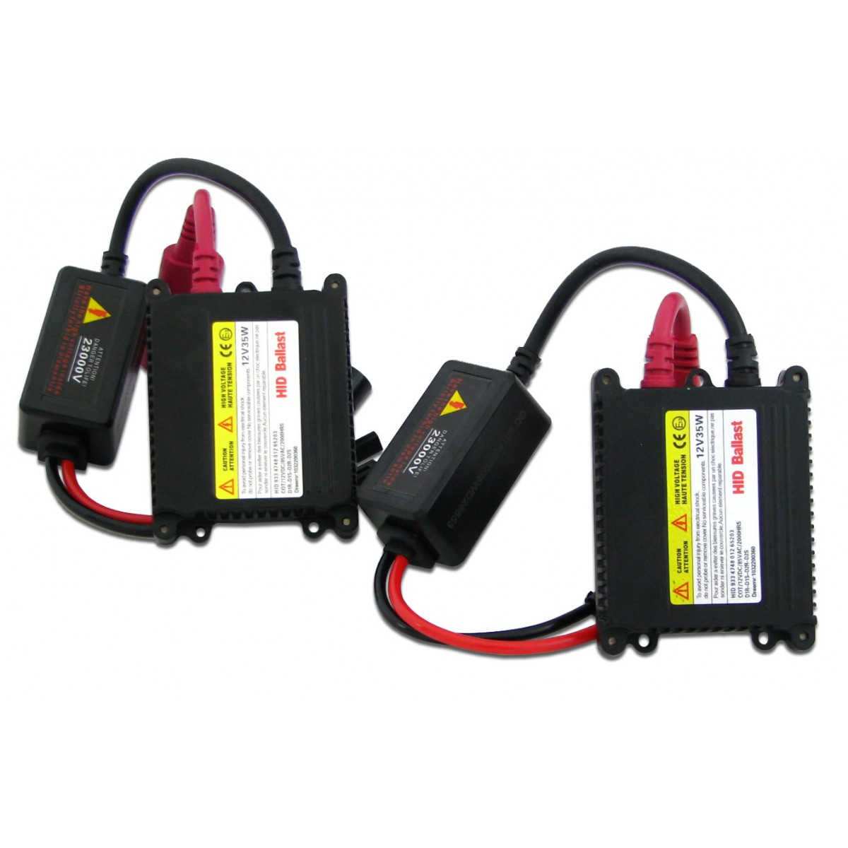 Kit Xenon H27 6000K Com Reator Digital HID