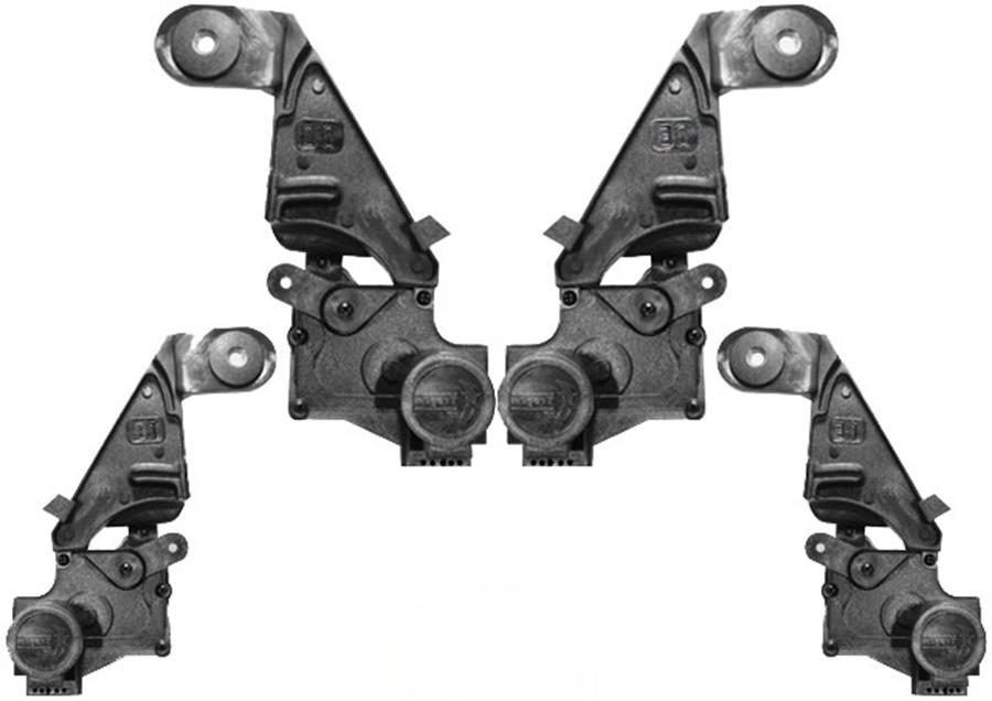 Kit Trava Eletrica Tragial Novo Corsa 2002 2003 2004 2005 2006 2007 2008 2009 2010 2011 2012 - 4 Portas