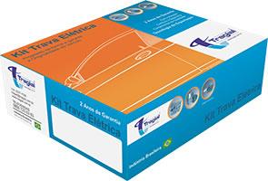 Kit Trava Eletrica Tragial  Vw Fox 2010 2011 2012 2013 2014 2015 - Saveiro G5 G6 2009 2010 2011 2012 2013 2014 Mono Serventia 2 Portas