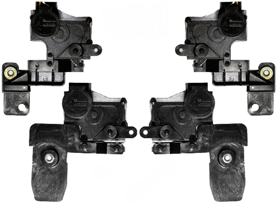 Kit Trava Eletrica Tragial  VW Gol G5 G6 2009 2010 2011 2012 2013 2014 2015 - Mono Serventia 4 Portas