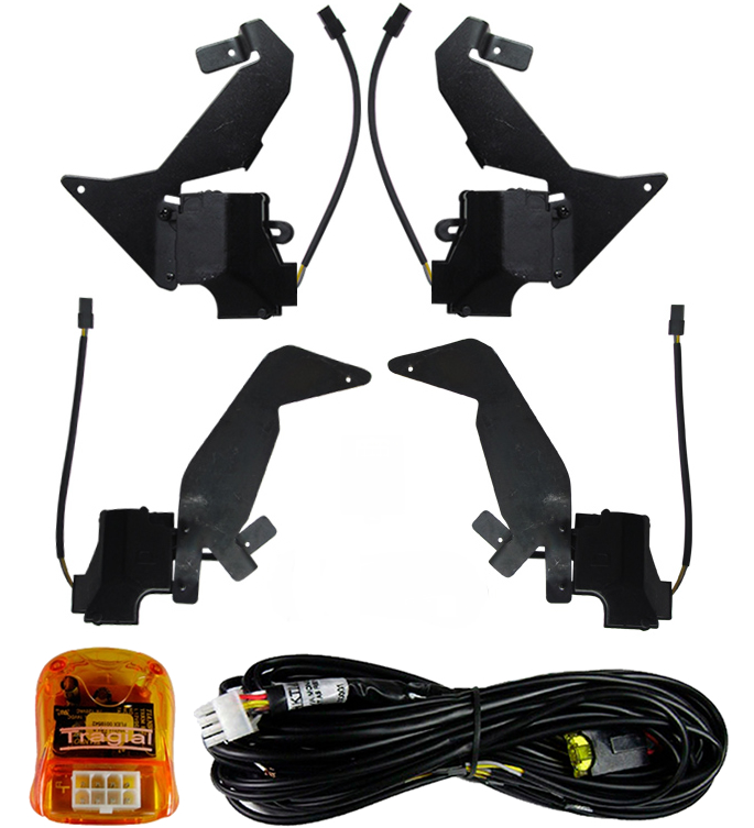 Kit Trava Eletrica Tragial  Vw UP 2014 2015 - Mono Serventia 4 Portas