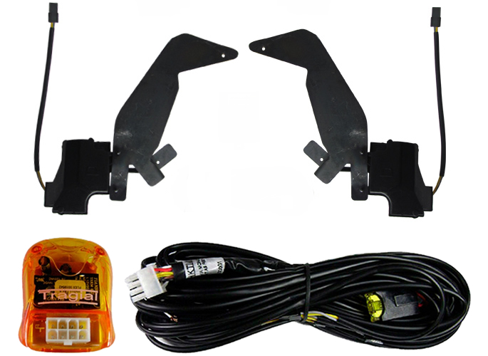 Kit Trava Eletrica Tragial Vw UP 2014 2015 - Mono Serventia 2 Portas