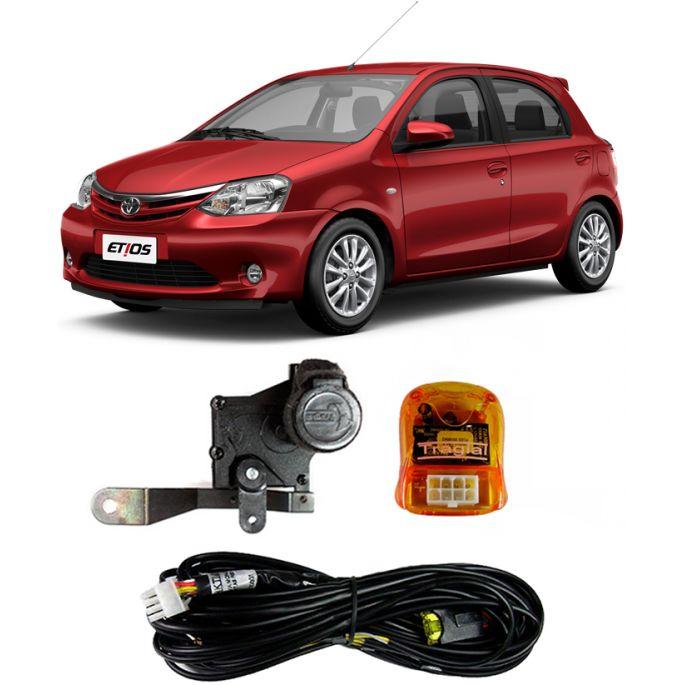 Atuador Porta Dianteira Esquerda - Toyota Etios 2013 2014 2015 ( Trava Auxiliar )