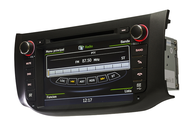 Central Multimidia Nissan Sentra 2015 2016 2017 Com DVD GPS Mapa Bluetooth MP3 USB Ipod SD Card Câmera Ré Grátis - Winca