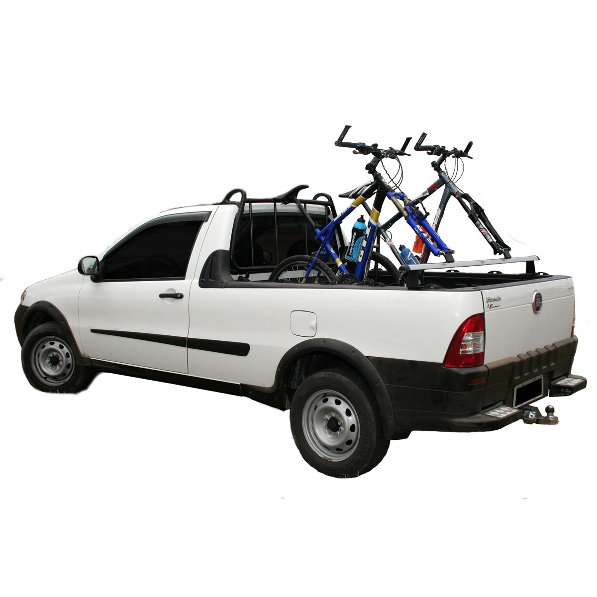 Rack Travessa de Caçamba Pick-up - Kiussi Vesuvio 180cm - Prata