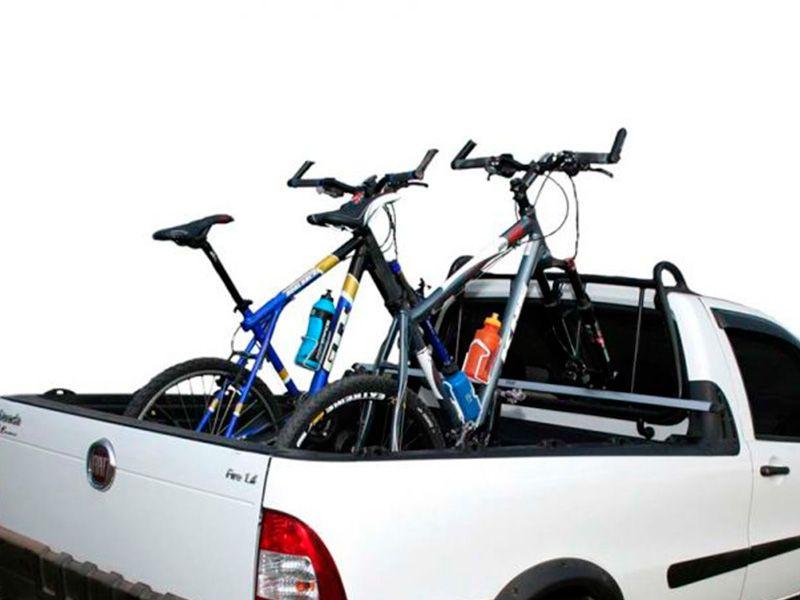 Rack Travessa de Caçamba Pick-up - Kiussi Vesuvio 180cm - Prata