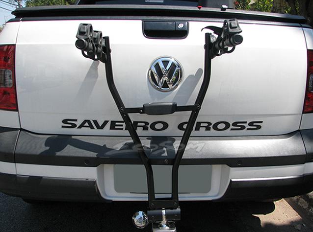 ac7d0e95b ... Suporte Para Bicicleta Universal Jetbag Xpress Para Engate - 2  Bicicletas - Bike - Preto ...