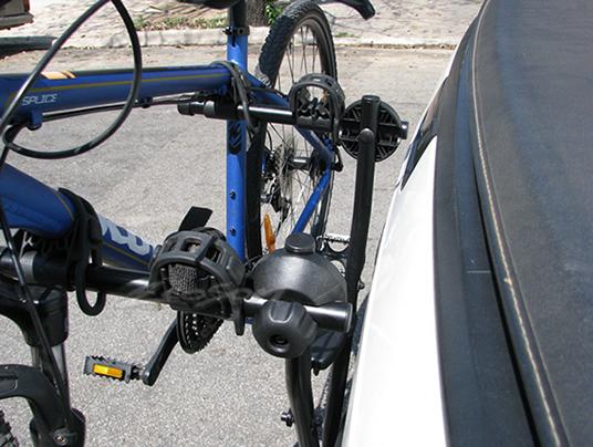 Suporte Para Bicicleta Universal Jetbag Xpress Para Engate - 2 Bicicletas - Bike - Preto