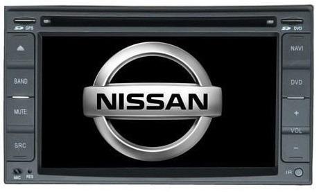 Central Multimidia Nissan Versa Frontier Tiida Livina March Sentra Hyundai Tucson + Câmera de Ré - S100