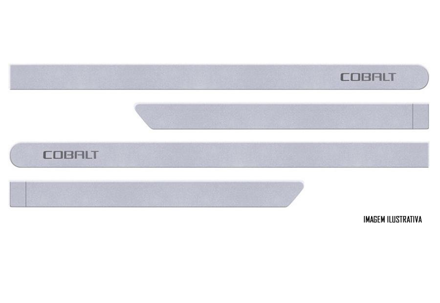 Jogo Friso Lateral Pintado Gm Chevrolet Cobalt LTZ Elite 2016 2017 - Cor Original