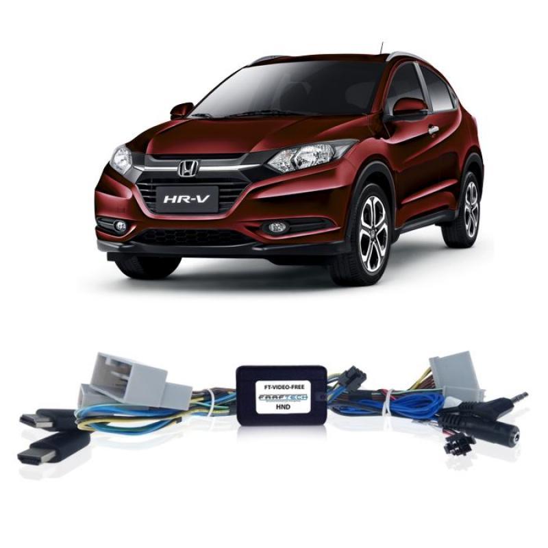 Interface Desbloqueio De Video Honda Hrv 2015 2017 e Civic 2015 a 2016 Faaftech