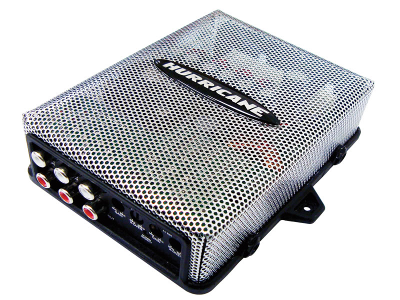 Modulo Amplificador Hurricane H 400.4D Mini 400w 4 Canais 2 Ohms Digital