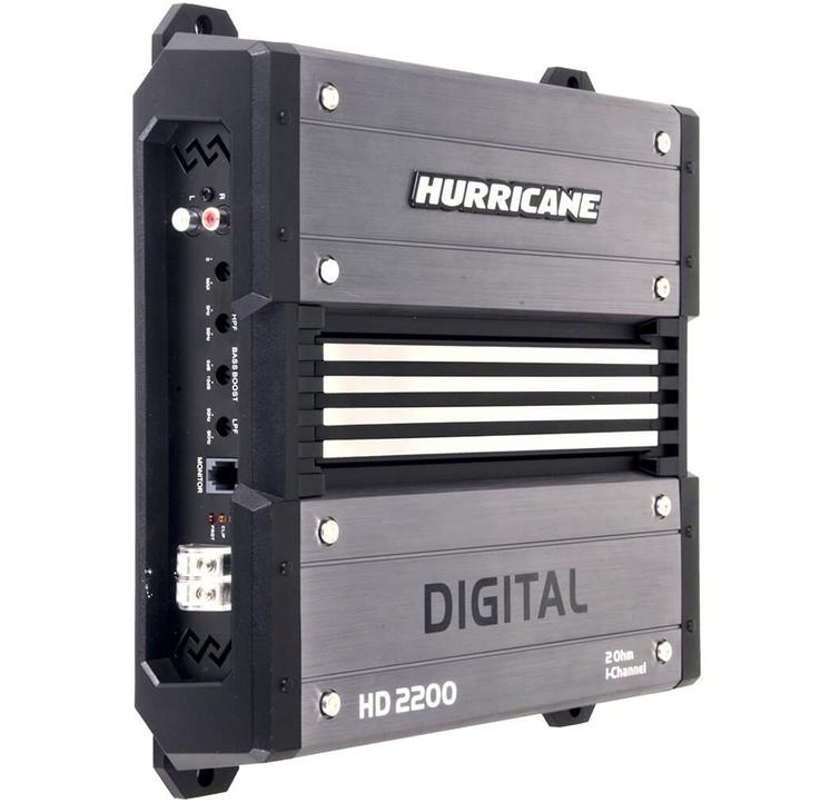 Módulo Amplificador Digital Hurricane HD 2200 - 1 Canal - 2200 Watts RMS