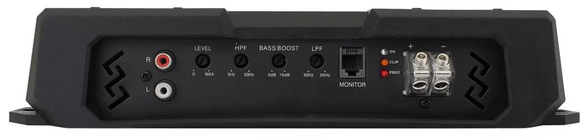 Módulo Amplificador Digital Hurricane HD 2800 - 1 Canal - 2800 Watts RMS