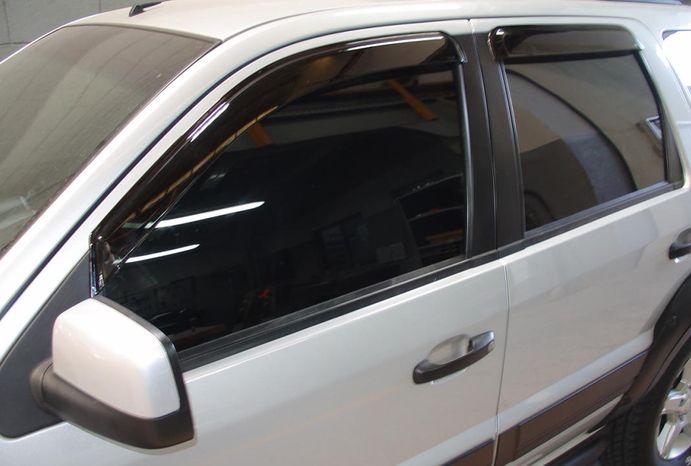 Calha Chuva Defletor TG Poli Ford Ecosport 2003 2004 2005 2006 2007 2008 2009 2010 2011 2012 - 4 Portas
