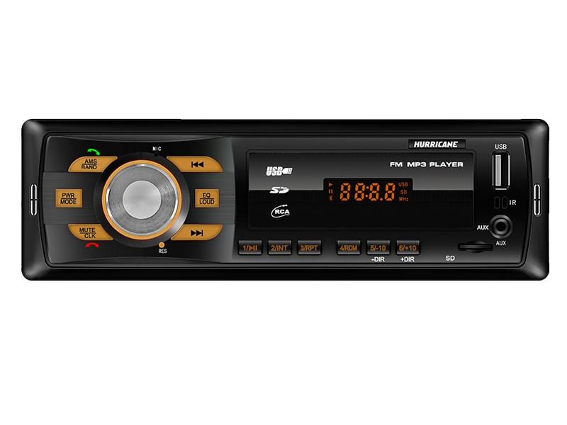 MP3 Player Hurricane HR 414BT com Bluetooth, Entrada USB, Entrada Auxiliar e Entrada Cartão de Memória