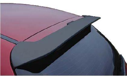 Aerofólio TG Poli Peugeot 206 207 Hatch 2000 à 2015 Sem LED 2 e 4 Portas Preto