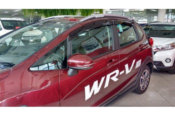 Calha Chuva Defletor TG Poli Honda Wrv 2017 2018 2019 - 4 Portas