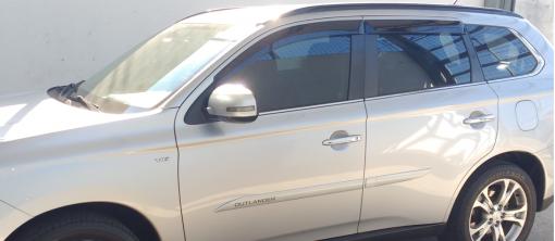 Calha Chuva Defletor TG Poli Mitsubishi Outlander 2014 2015 2016 2017 2018 2019 - 4 Portas
