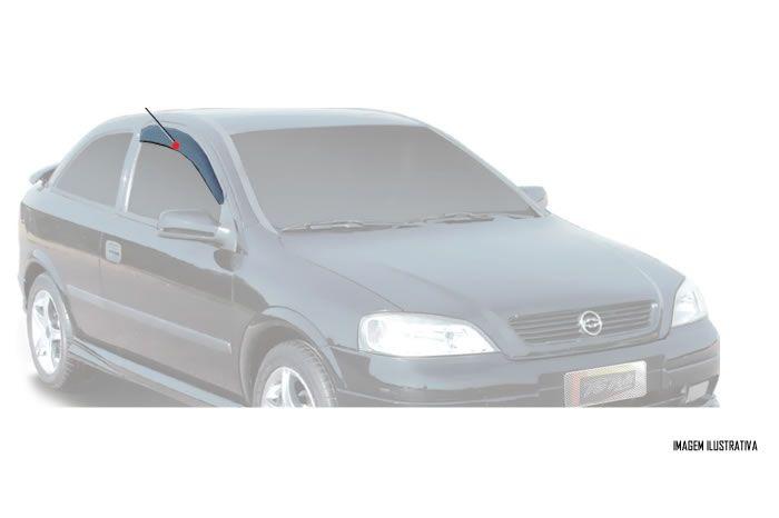 Calha Chuva Defletor TG Poli Gm Astra Hatch 1999  2000 2001 2002 2003 2004 2005 2006 2007 2008 2009 2010 2011 - 2 Portas