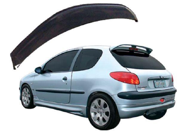 Calha Chuva Defletor TG Poli Peugeot 206 207 Hatch 2001 2002 2003 2004 2005 2006 2007 2008 2009 2010 2011 2012 2013 - 2 Portas