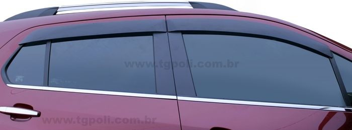 Calha Chuva Defletor TG Poli Chevrolet Tracker 2013 2014 2015 2016 2017 2018 2019 2020- 4 Portas