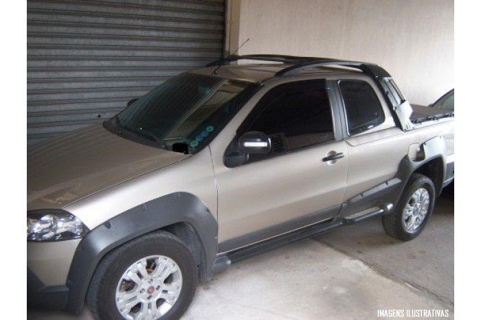 Calha de Chuva Fiat Strada CS CE CD 1996 à 2019  - 2 e 3 Portas - Original + Primer Aderente