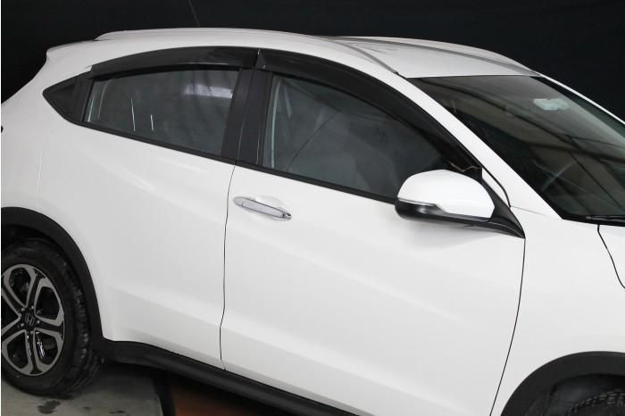 Calha Chuva Defletor TG Poli Honda HRV 2015 2016 2017 2018 2019 2020 - 4 Portas