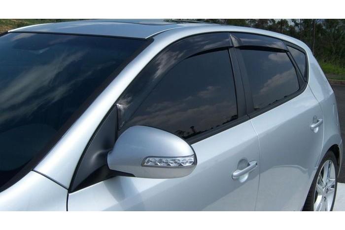 Calha Chuva Defletor TG Poli Hyundai I30 Hatch 2009 2010 2011 2012  - 4 Portas