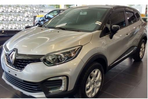 Calha Chuva Defletor TG Poli Renault Captur 2017 2018 2019 2020 - 4 Portas