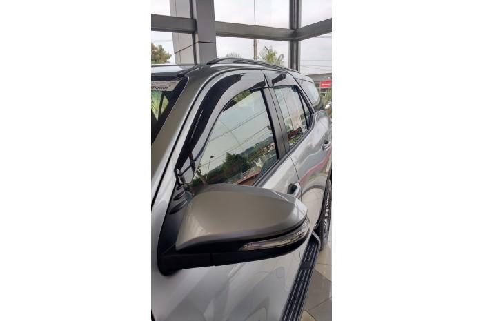 Calha Chuva Defletor TG Poli Toyota Hilux SW4 2016 2017 2018 2019 2020 - 4 Portas