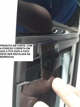 Calha Chuva Defletor TG Poli Vw Up 2014 2015 2016 2017 2018 2019 2020 - 4 Portas