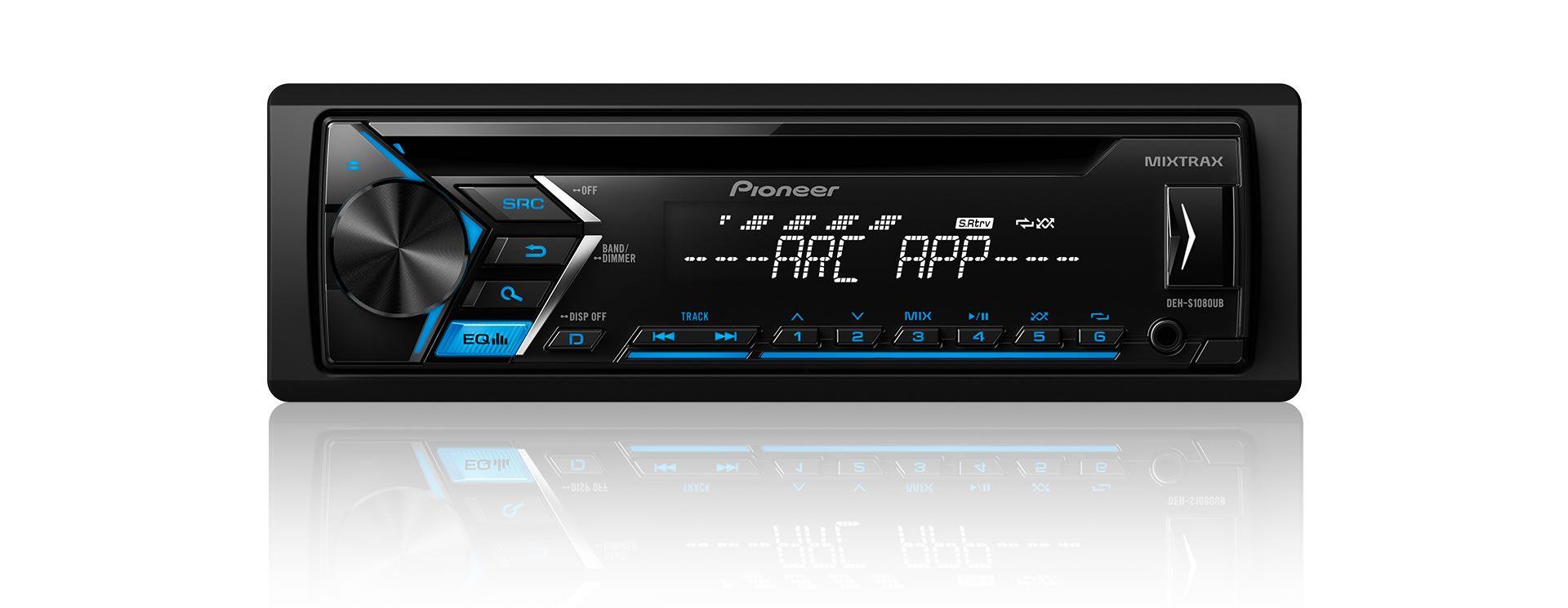 CD Player Automotivo Pioneer DEH-S1080UB, Entrada USB, Reproduz MP3, Mixtrax , Controle Remoto