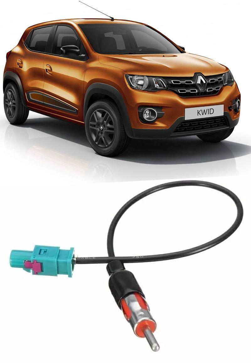 Chicote Plug Adaptador de Antena Renault Kwid 2017 2018
