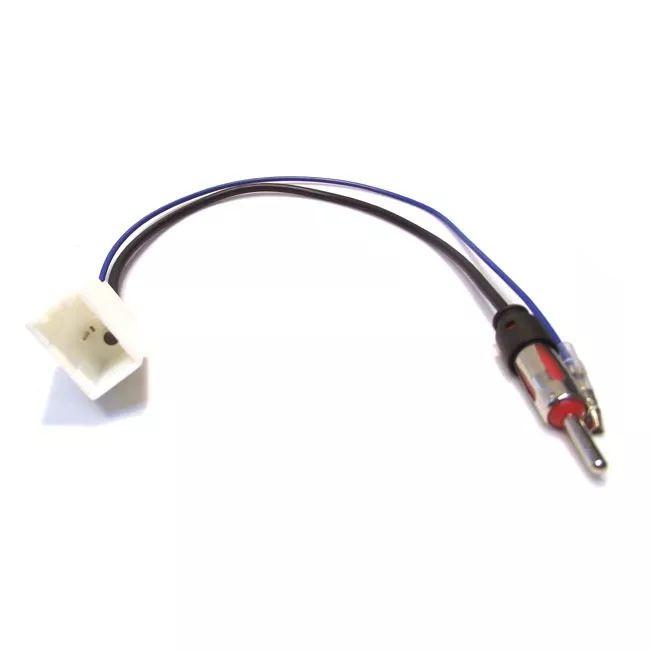 Chicote Plug Adaptador de Antena Toyota Corolla 2009 2010 2011 Etios 2012 2013 2014 2015 2016 2017 2018 Hilux 2012 2013 2014 2015 2016 2017 Yaris 2018 2019