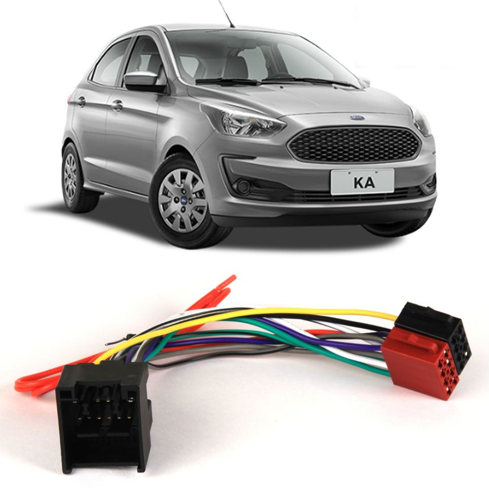 Chicote Plug Ligação Ford Novo Ka 2019 2020