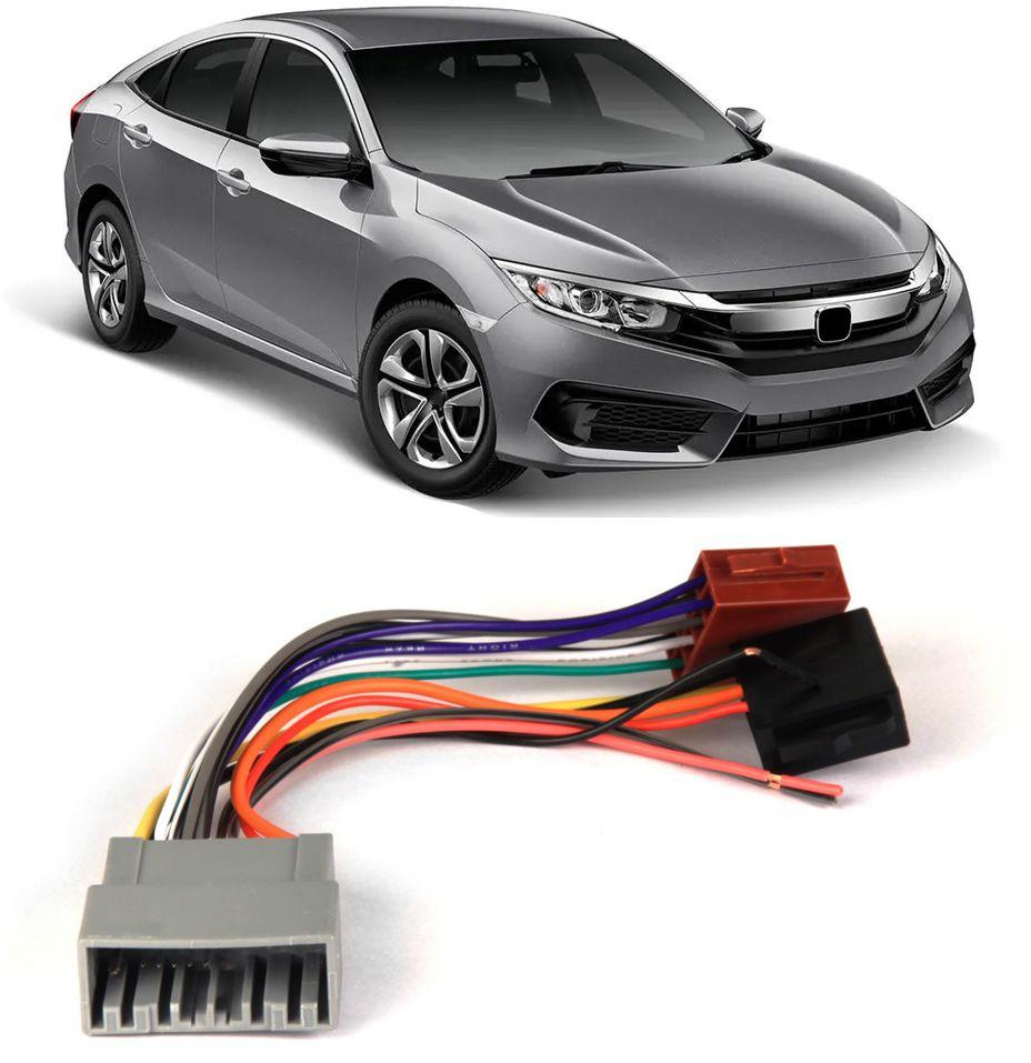 Chicote Plug Ligação Honda Civic G10 2017 2018 2019 2020