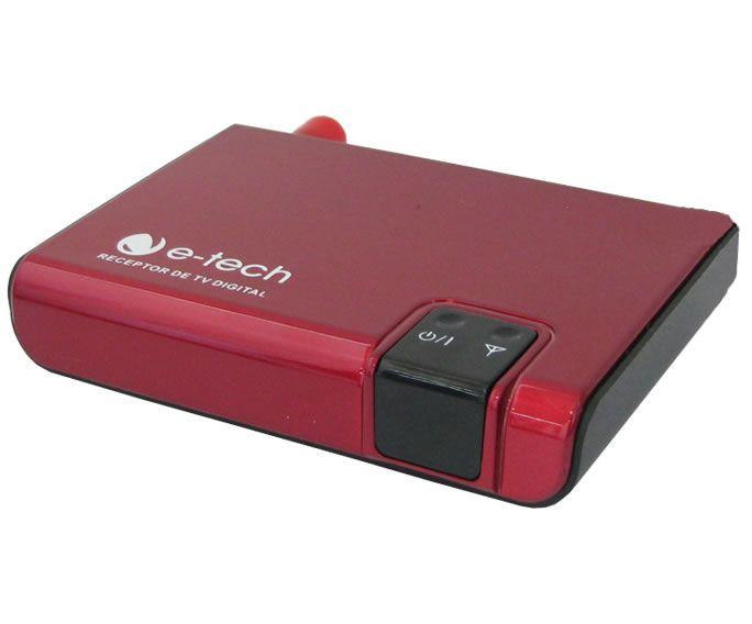 """DVD Player Automotivo 2 DIN E-Tech Universal Tela 6,2"""" - Bluetooth Com Entrada USB Entrada Cartão de Memória Rádio AM FM + Câmera de Ré + Receptor Sintonizador TV Digital"""