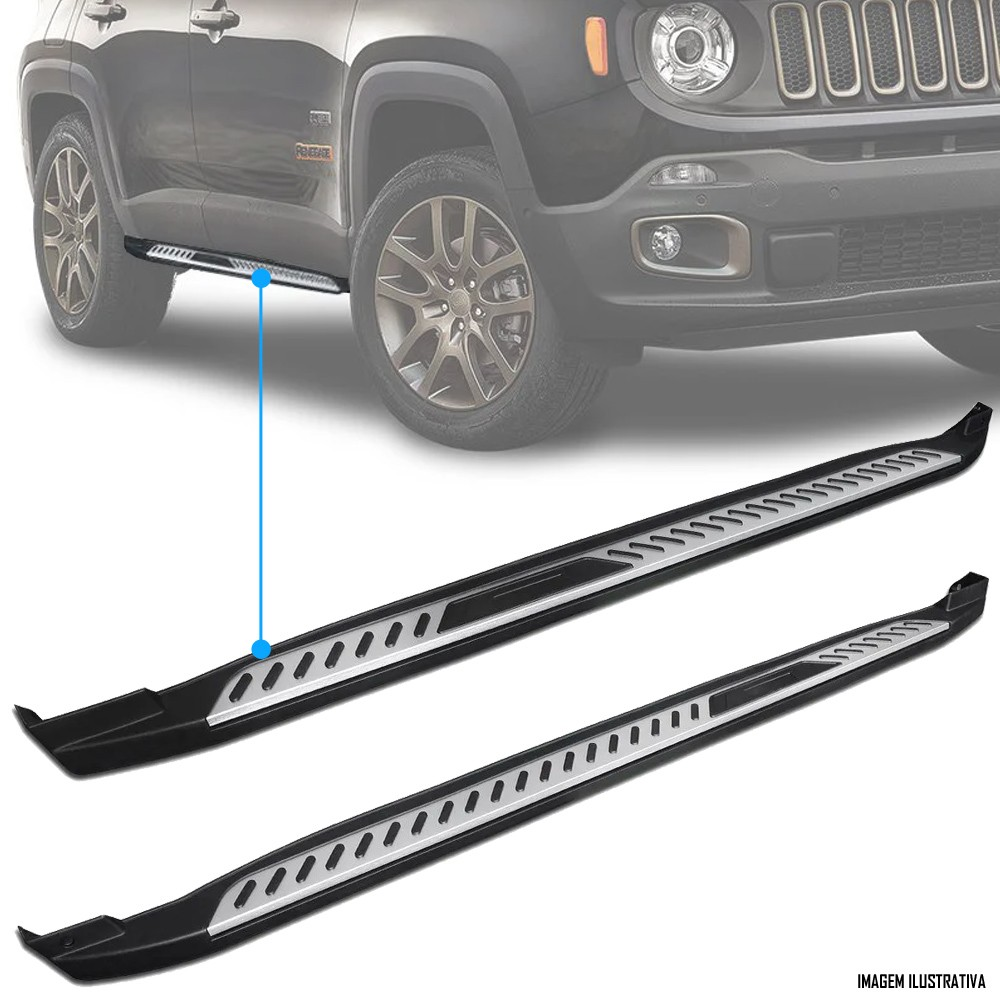 Estribo Lateral Jeep Renegade 2016 2017 2018 2019 2020
