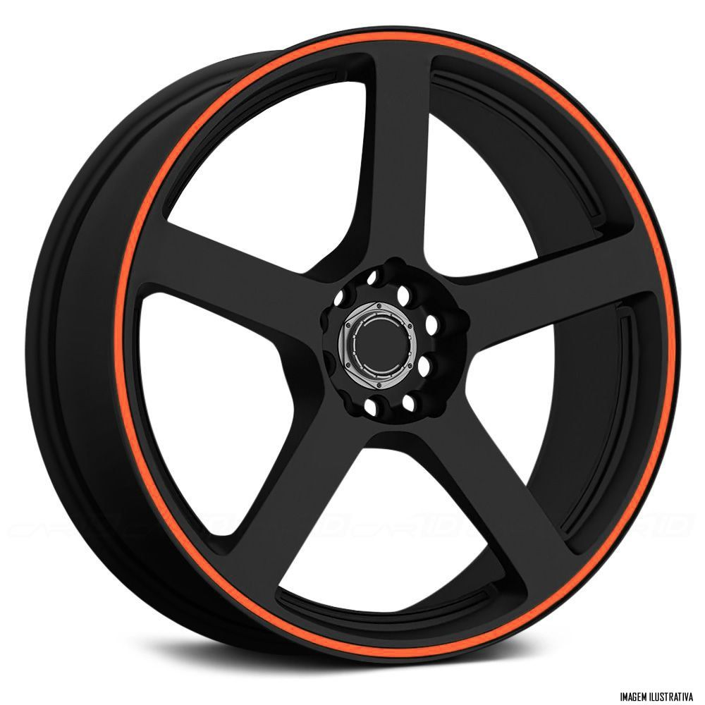 Faixa Refletiva De Roda Para Carro Aro 14 15 16 17 18 19 20 21 22 - 5mm