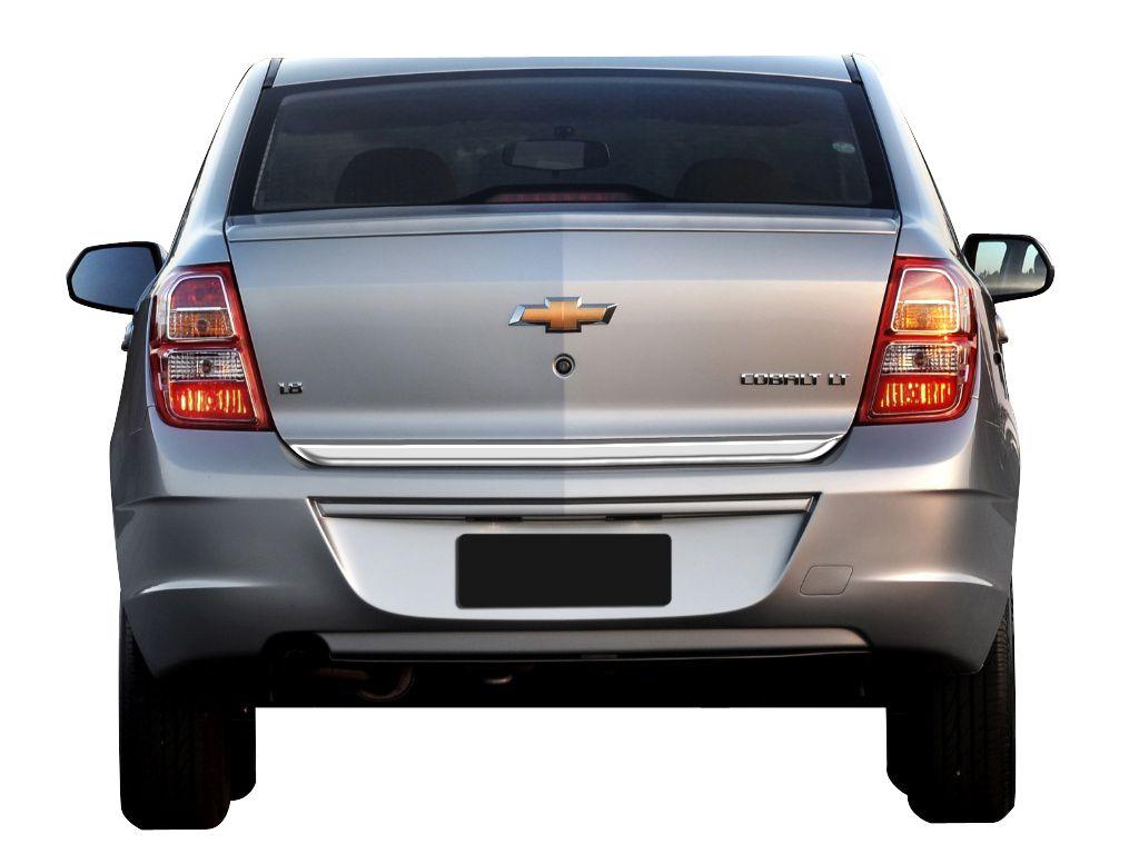 Friso Cromado Resinado Traseiro Porta Malas Chevrolet Cobalt 2012 2013 2014 2015