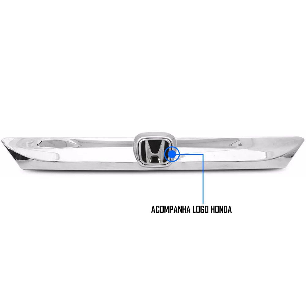 Friso Placa Cromado Honda HRV