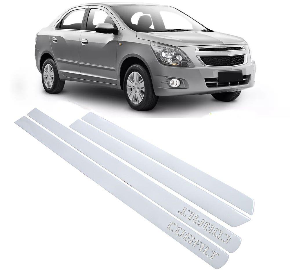 Jogo Adesivo Friso Lateral Chevrolet Cobalt - Transparente