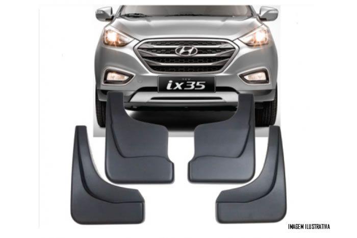 Jogo Apara Barro Protetor Lameira Flap Hyundai IX35 2011 2012 2013 2014 2015 2016 2017 2018