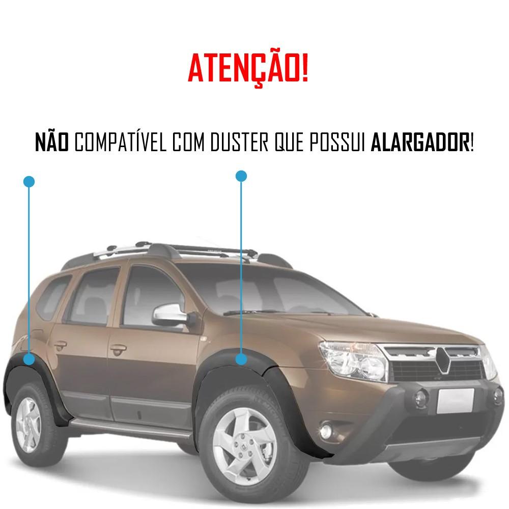 Jogo Apara Barro Protetor Lameira Flap Renault Duster 2015 2016 2017 2018