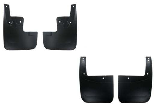 Jogo Apara Barro Protetor Lameira Flap  S10 e Trailblazer