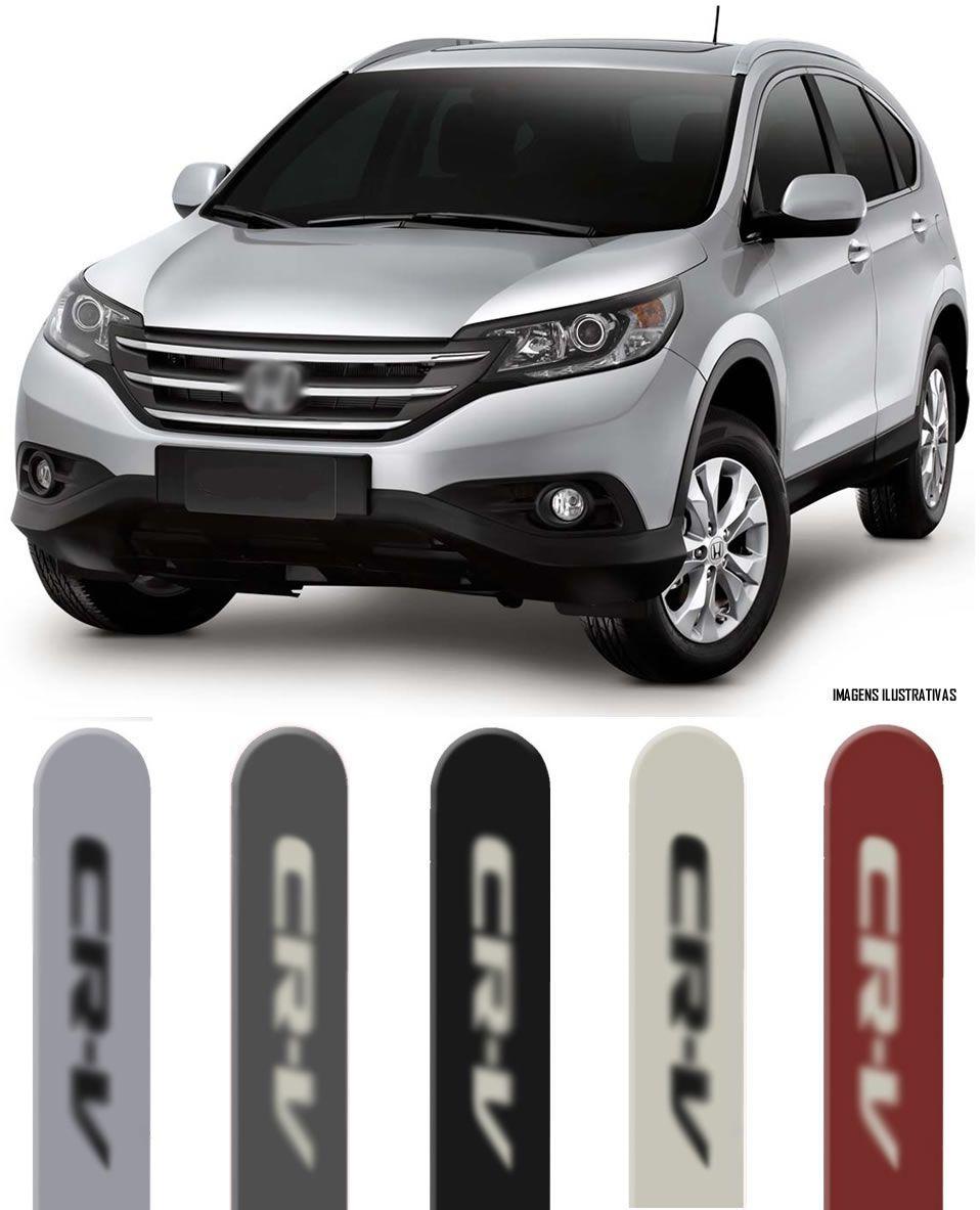 Jogo Friso Lateral Pintado Honda CRV 2007 2008 2009 2010 2011 2012 2013 - Cor Original