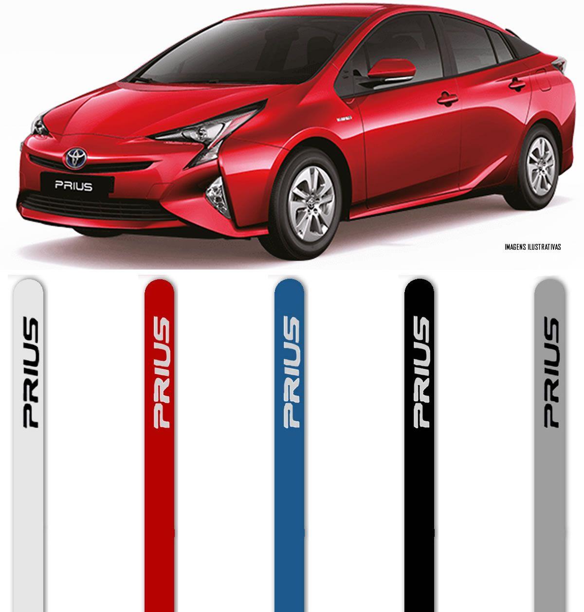 Jogo Friso Lateral Pintado Toyota Prius - Cor Original